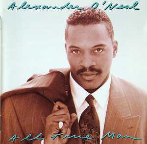 Album  Cover Alexander O' Neal - All True Man on TABU Records from 1991