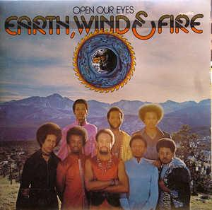 Front Cover Album Wind & Fire Earth - Open Our Eyes