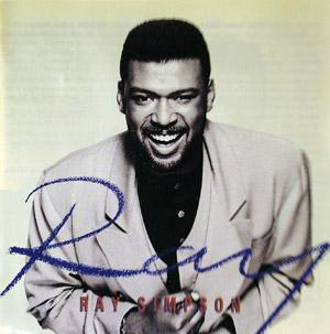 Album  Cover Ray Simpson - Ray on CIRCA Records from 1992