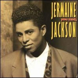 Jermaine Jackson - You Said - Front Cover