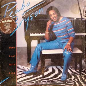 Front Cover Album Peabo Bryson - Don't Play With Fire