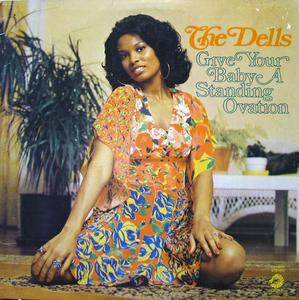 Album  Cover The Dells - Give Your Baby A Standing Ovation on CADET Records from 1973