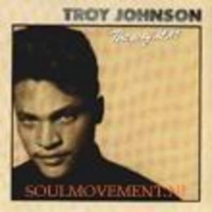 Album  Cover Troy Johnson - The Way It Is on RCA Records from 1989