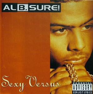 Album  Cover Al B Sure - Sexy Versus on WARNER BROS. Records from 1992