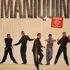 Album  Cover Maniquin - Maniquin on EPIC Records from 1989