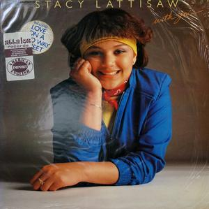 Album  Cover Stacy Lattisaw - With You on COTILLION Records from 1981