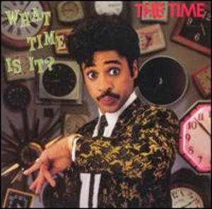 Album  Cover The Time - What Time Is It on WARNER BROS. Records from 1982