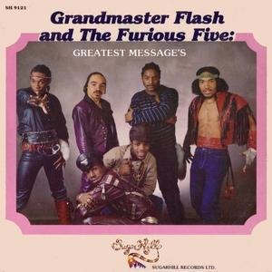 Album  Cover Grandmaster Flash And The Furious Five - Greatest Messages on SUGARHILL Records from 1983