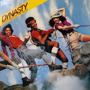 Album  Cover Dynasty - Your Piece Of The Rock on SOLAR Records from 1979