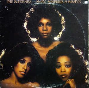 Album  Cover The Supremes - Mary, Scherrie & Susaye on MOTOWN Records from 1976