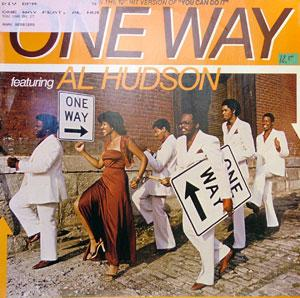Album  Cover One Way - One Way (featuring Al Hudson) on MCA Records from 1979