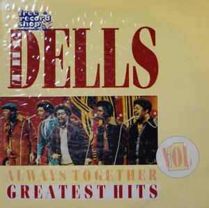 Album  Cover The Dells - Always Together on  Records from 1987