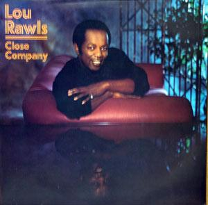 Album  Cover Lou Rawls - Close Company on EPIC Records from 1984