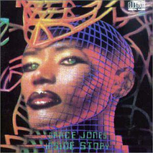 Album  Cover Grace Jones - Inside Story on EMI Records from 1986