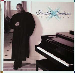Album  Cover Freddie Jackson - Private Party on SCOTTI BROS Records from 1995