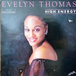 Album  Cover Evelyn Thomas - High Energy on SHACK Records from 1984