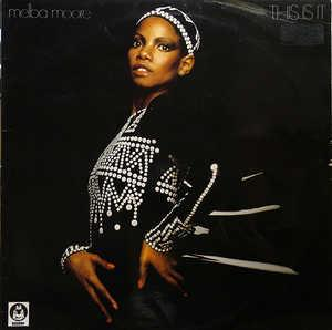 Album  Cover Melba Moore - This Is It on BUDDAH Records from 1976