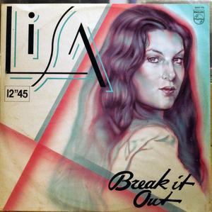 Front Cover Single Lisa Boray - Break It Out