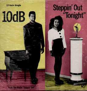 Front Cover Single 10db - Steppin' Out Tonight