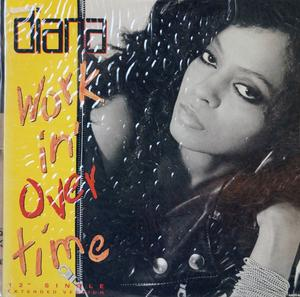 Front Cover Single Diana Ross - Workin' Overtime