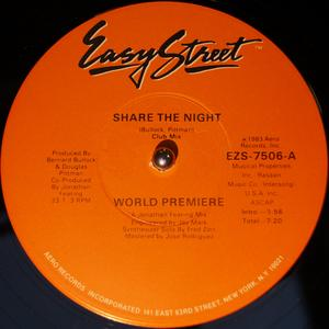 Front Cover Single World Premiere - Share The Night