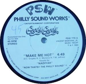 Front Cover Single Goody Goody - Make Me Hot