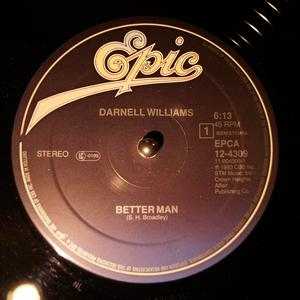 Front Cover Single Darnell Williams - Better Man