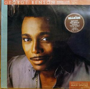 Front Cover Single George Benson - Inside Love