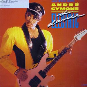 Front Cover Single André Cymone - The Dance Electric