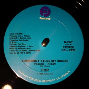 Front Cover Single Fdr - Somebody Stole My Mouse