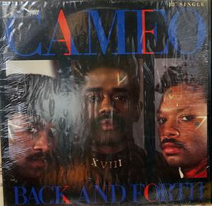 Front Cover Single Cameo - Back And Forth