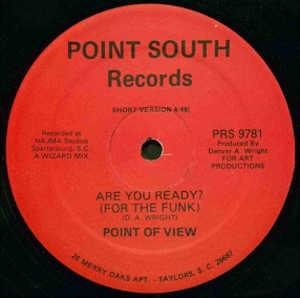 Front Cover Single Point Of View - Are You Ready? (For The Funk)