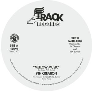Front Cover Single The 9th Creation - Mellow Music