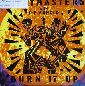 Front Cover Single The Beatmasters - Burn It Up