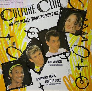 Front Cover Single Culture Club - Do You Really Want To Heart Me