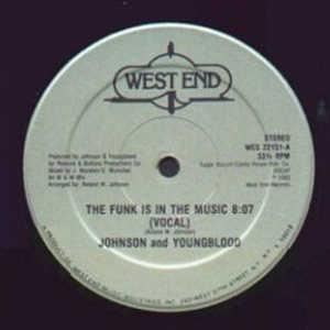 Front Cover Single Johnson &  Youngblood - The Funk Is In The Music
