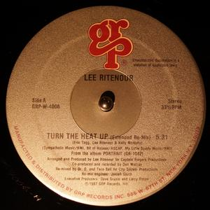 Front Cover Single Lee Ritenour - Turn The Heat Up