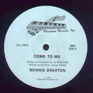 Front Cover Single Bennie Braxton - Come To Me