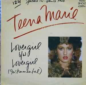 Front Cover Single Teena Marie - Lover Girl