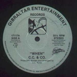 Front Cover Single C.c & Co - When