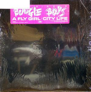Front Cover Single The Boogie Boys - City Life