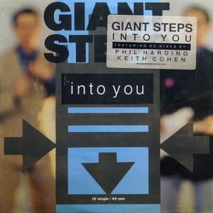 Front Cover Single Giant Steps - Into You