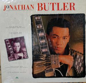 Front Cover Single Jonathan Butler - Holding On