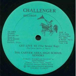 Front Cover Single The Carver Area High School Seniors - Get Live '83 (The Carver Senior Song)