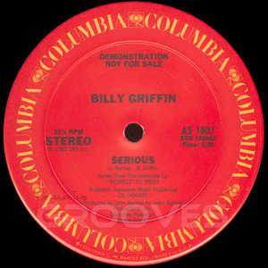 Front Cover Single Billy Griffin - Serious