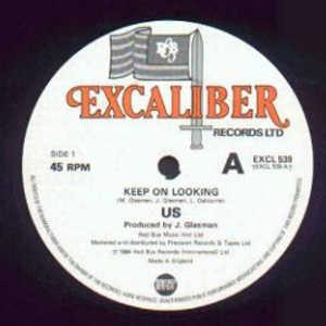 Front Cover Single Us - Keep On Looking