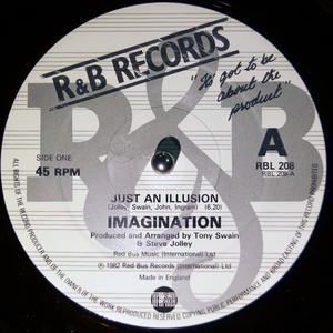 Front Cover Single Imagination - Just An Illusion
