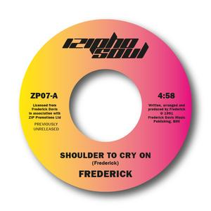 Front Cover Single Frederick - Shoulder To Cry On