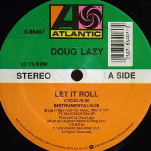 Front Cover Single Doug Lazy - Let It Roll