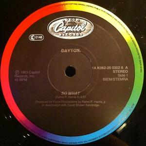 Front Cover Single Dayton - So What